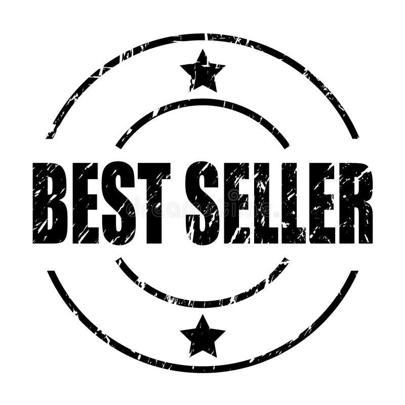 Timbre du best-seller illustration de vecteur