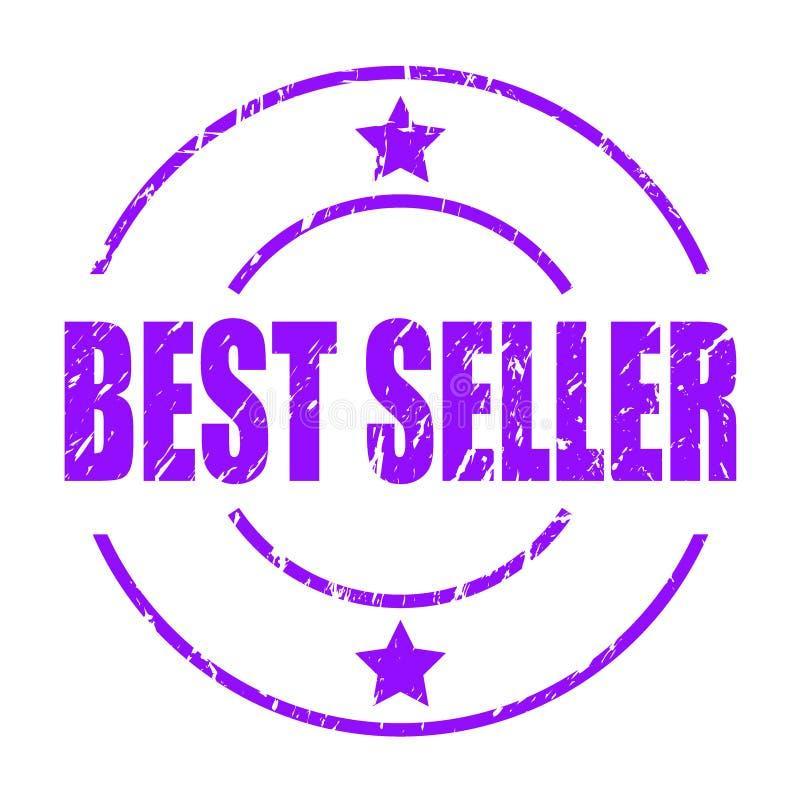 Timbre du best-seller illustration stock