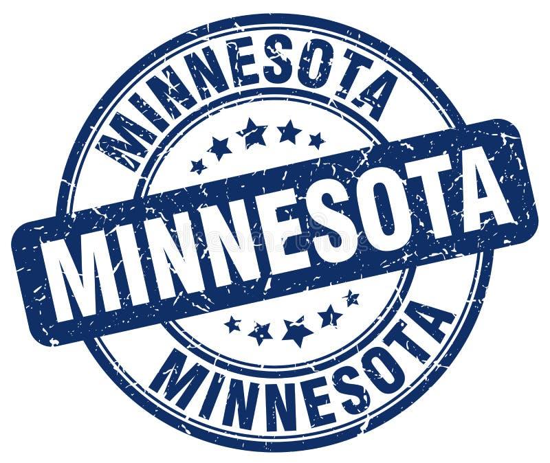 Timbre du Minnesota illustration de vecteur