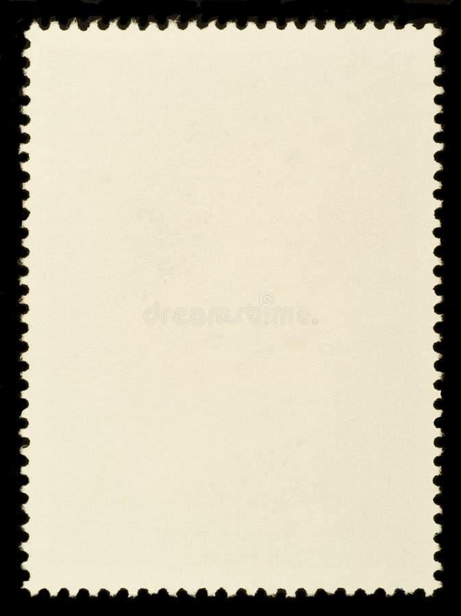 Timbre-poste blanc photo libre de droits