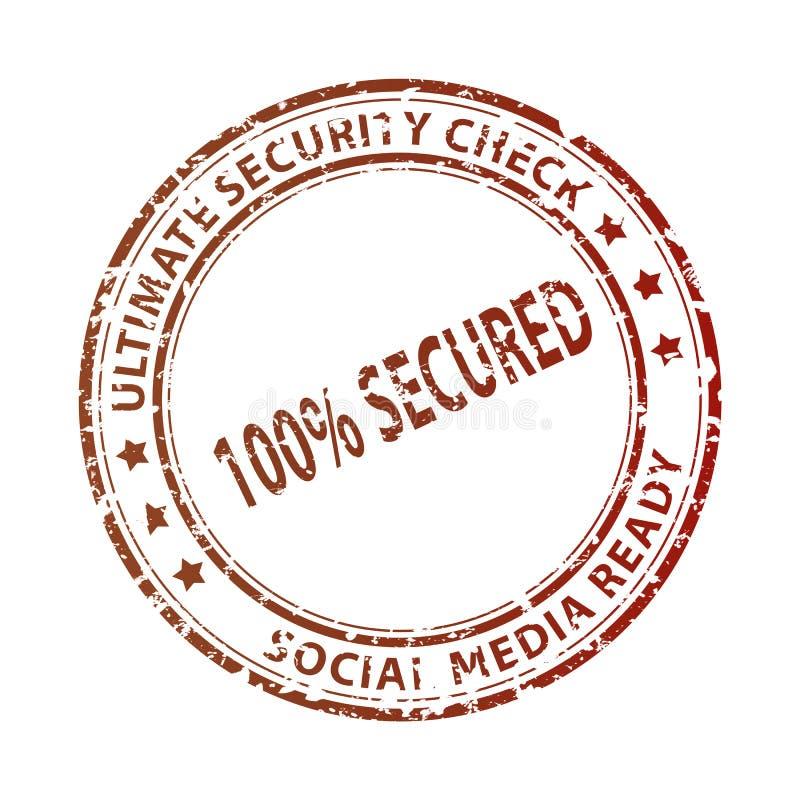 Timbre social de media images libres de droits