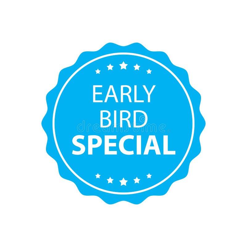 Timbre spécial d'oiseau tôt illustration libre de droits