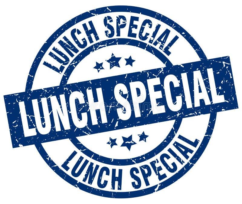 Timbre spécial de déjeuner illustration libre de droits