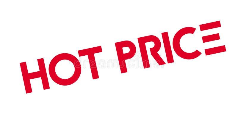 Timbro di gomma caldo di prezzi royalty illustrazione gratis