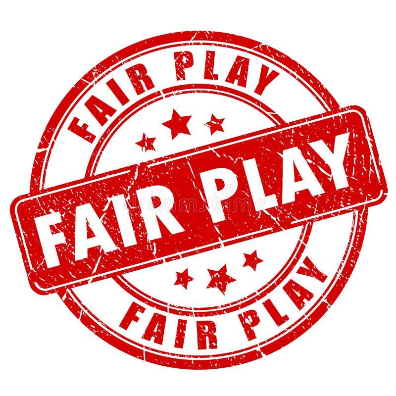 Timbro di gomma del fairplay royalty illustrazione gratis