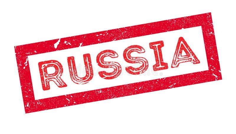 Timbro di gomma della Russia illustrazione di stock