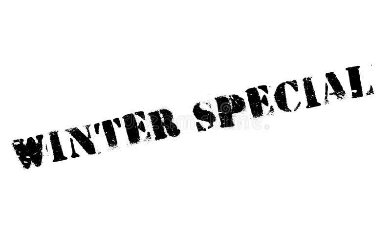 Timbro di gomma dello speciale di inverno royalty illustrazione gratis