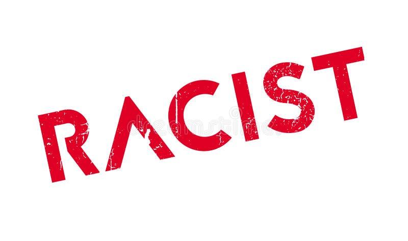 Timbro di gomma razzista royalty illustrazione gratis