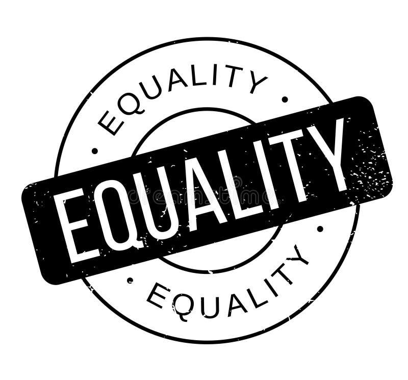 Timbro di gomma di uguaglianza royalty illustrazione gratis