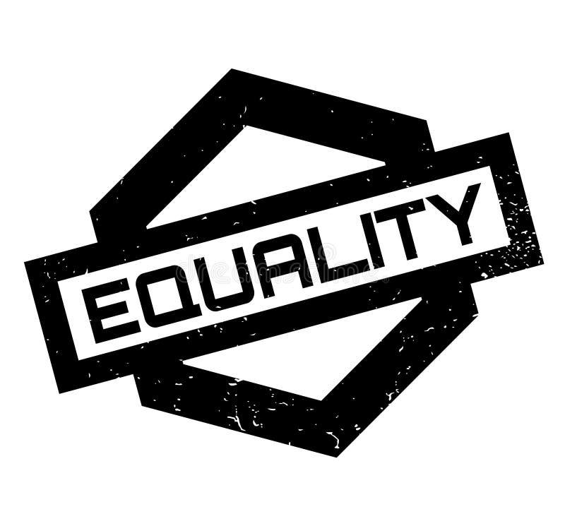 Timbro di gomma di uguaglianza illustrazione vettoriale