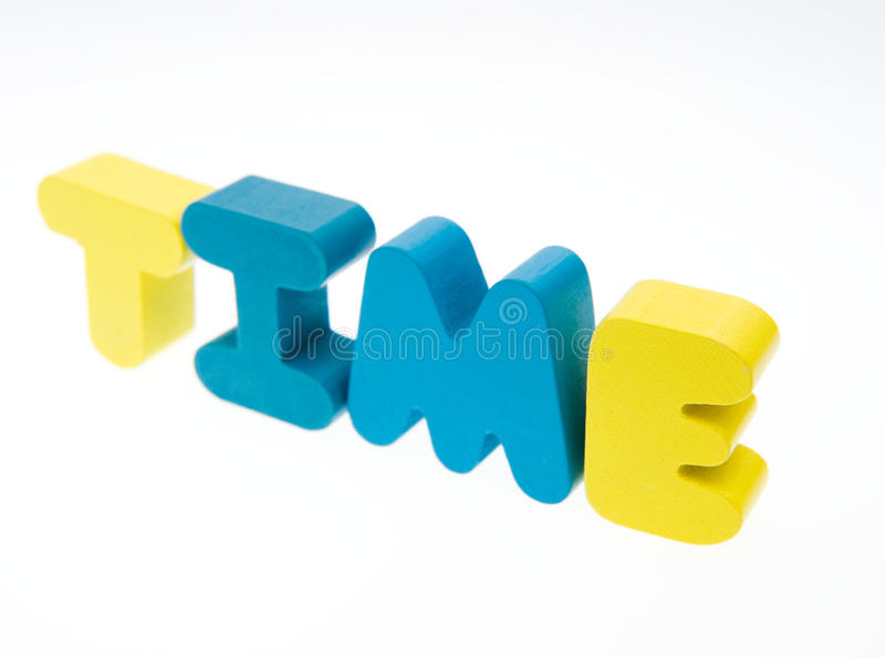 Download Time stock image. Image of color, communication, isolated - 27056101