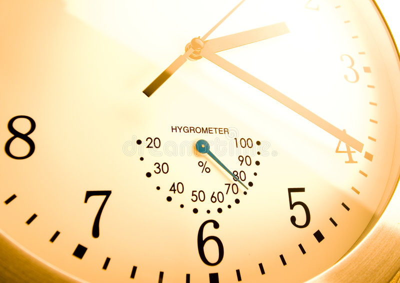 Time. Alarm clock is an instrument that shows you what time it is royalty free stock images