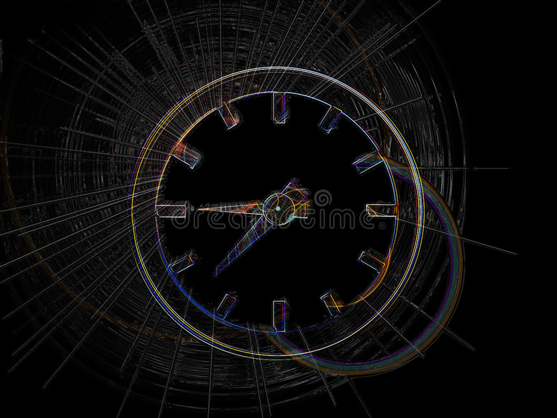 Time stock illustration