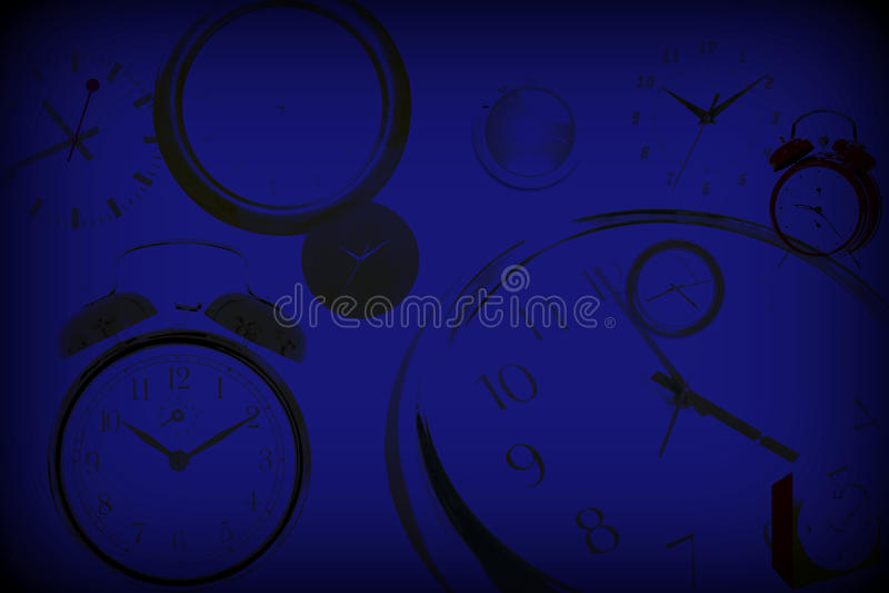 Time Background vector illustration