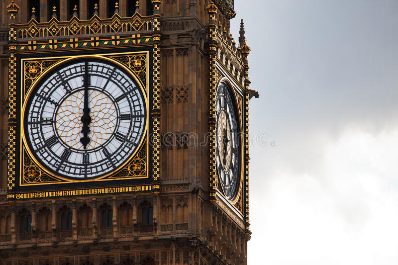 Download Time on Big Ben stock image. Image of tower, chronology - 17016931