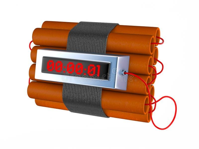 Download Time bomb stock illustration. Illustration of clock, gunpowder - 21723203