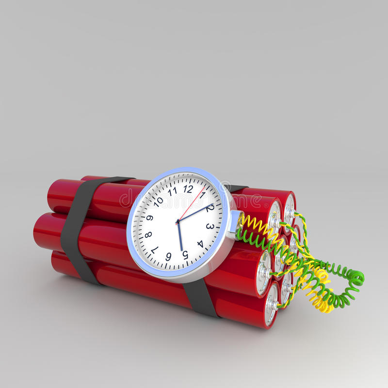 Download Time bomb stock illustration. Image of illustration, bomb - 27903474