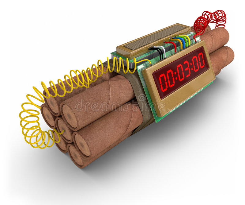 Download Time Bomb Stock Photography - Image: 7741602