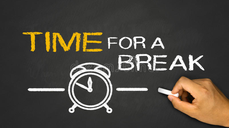 time for a break stock images