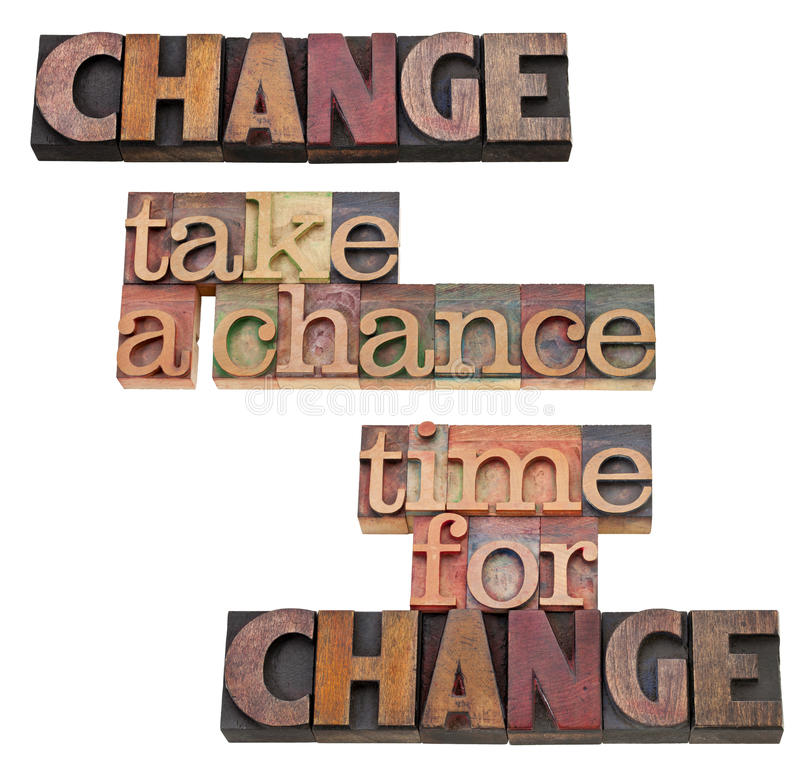 Download Time For Change - Take A Chance Stock Image - Image: 22594519