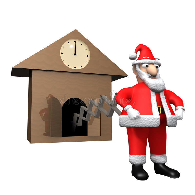Download Time for Christmas stock illustration. Image of year, christmas - 3741227