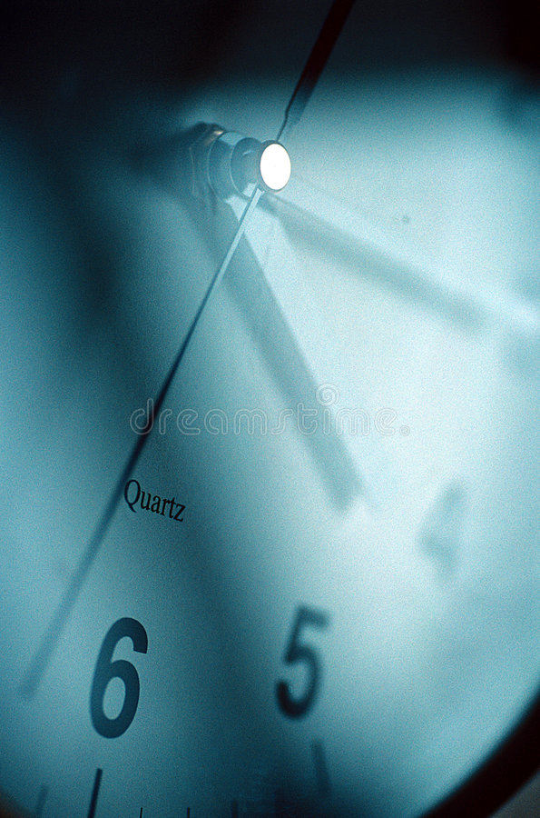 Time Clock Face. royalty free stock images