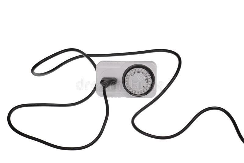 Download Time clock socket stock image. Image of plug, path, outlet - 27810389