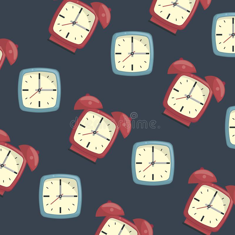 Time and clocks royalty free illustration