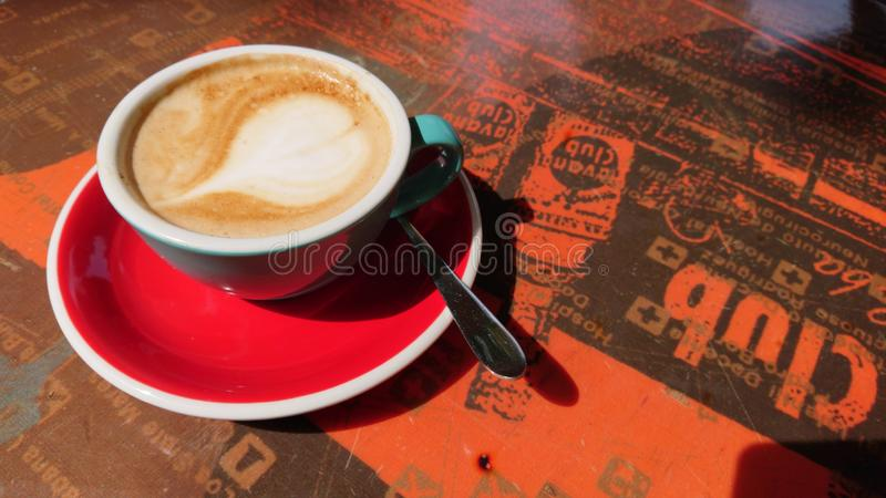 Time for a coffee-break royalty free stock photos