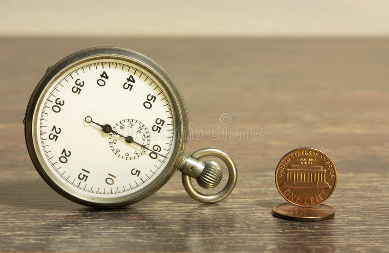 Download Time and coins stock photo. Image of funds, small, money - 12672928