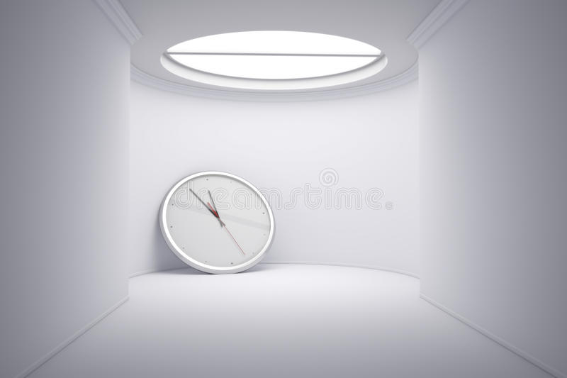 Download Time concept stock illustration. Illustration of cubicle - 28588408