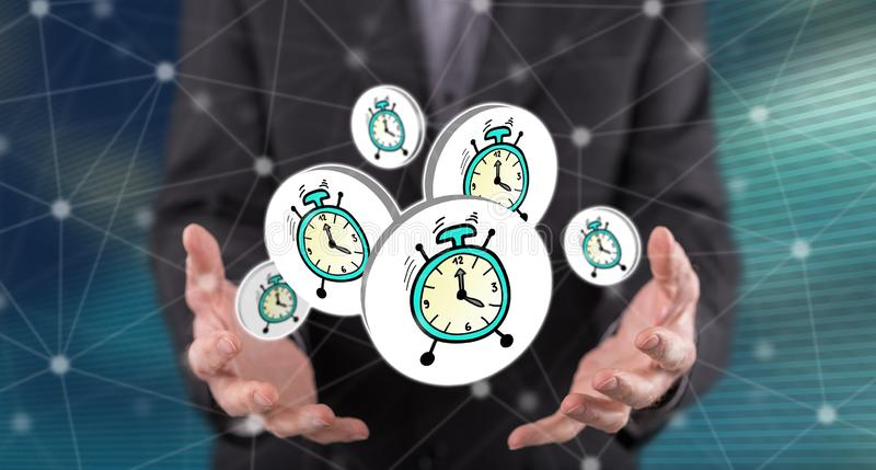 Concept of time royalty free stock photography