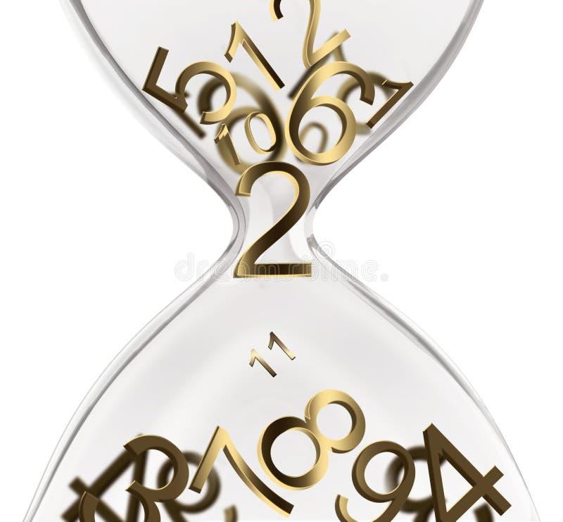 Time concept design royalty free illustration