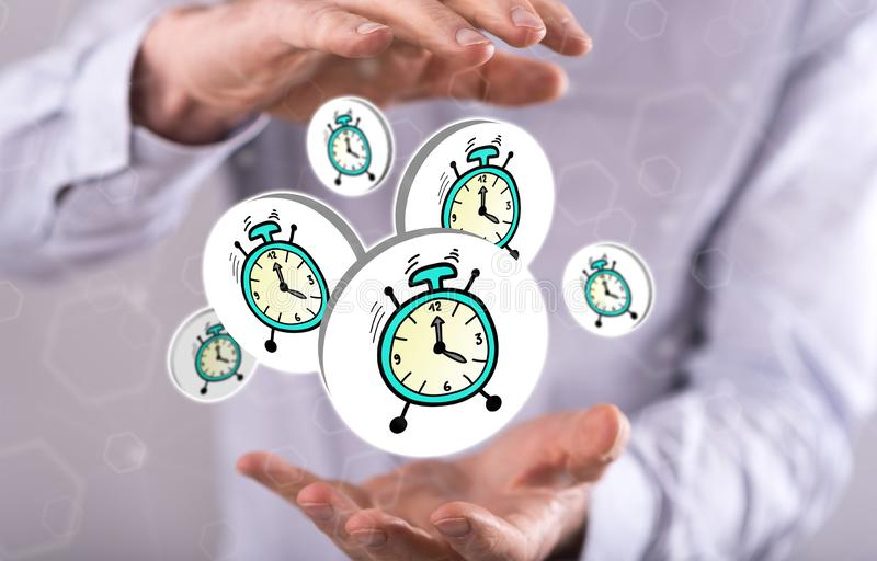 Concept of time royalty free stock images