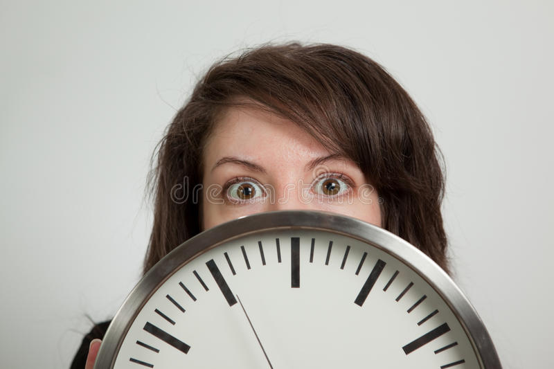 Download Time is crucial stock image. Image of long, serious, hair - 14323391