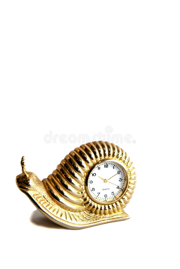 Time draggin by royalty free stock photography