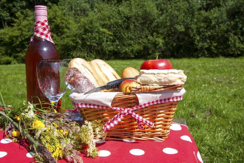 Time för en picknick arkivfoton