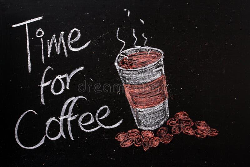 Time för kaffe royaltyfri bild