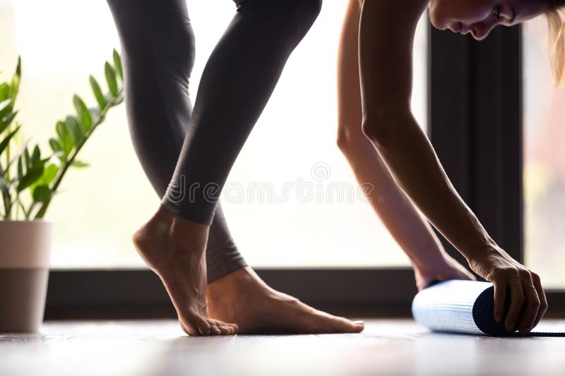 Time for fitness or sport practice concept royalty free stock photo