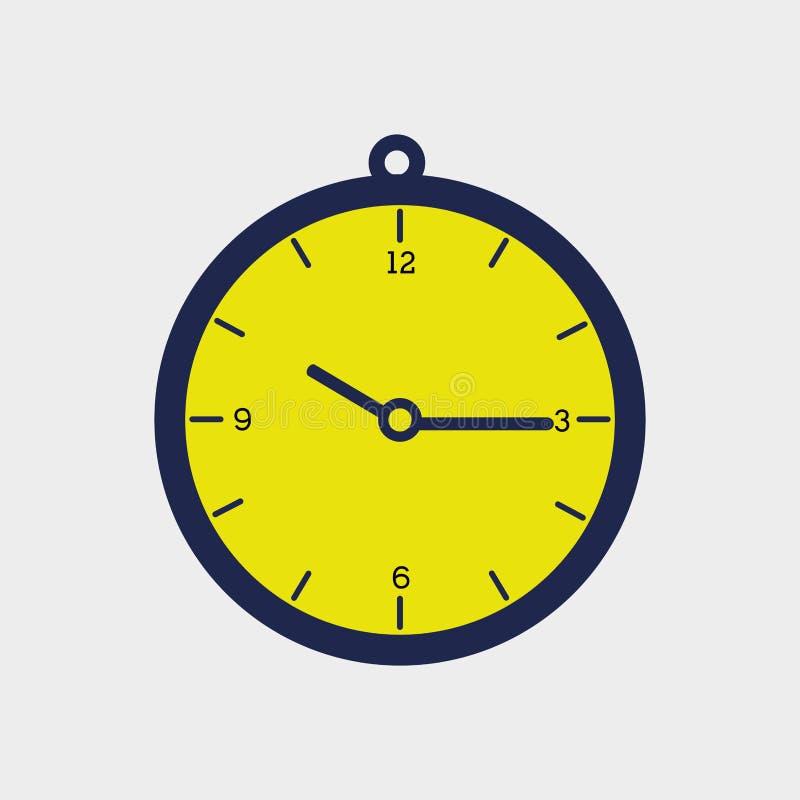 Time flat icon design. Illustration eps10 graphic stock illustration