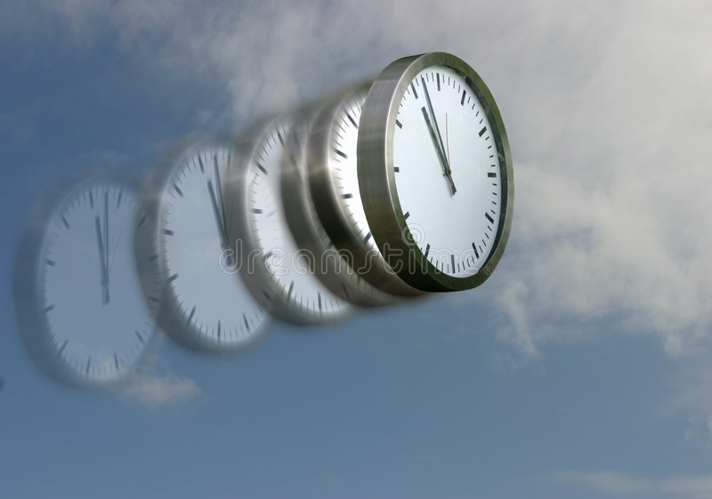 Download Time flies stock image. Image of tock, minutes, work, wings - 135129