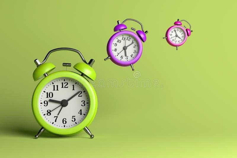 Time Flies royalty free illustration