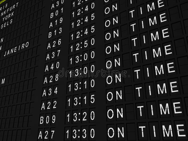 Download On Time Flights stock image. Image of travel, departure - 11348239
