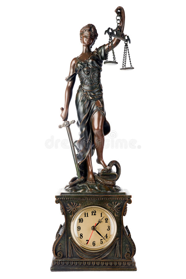 Time Fo Justice Royalty Free Stock Photo