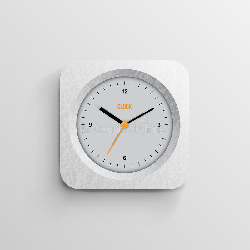 Free Time For Design Concept Clock Stock Image - 28678131