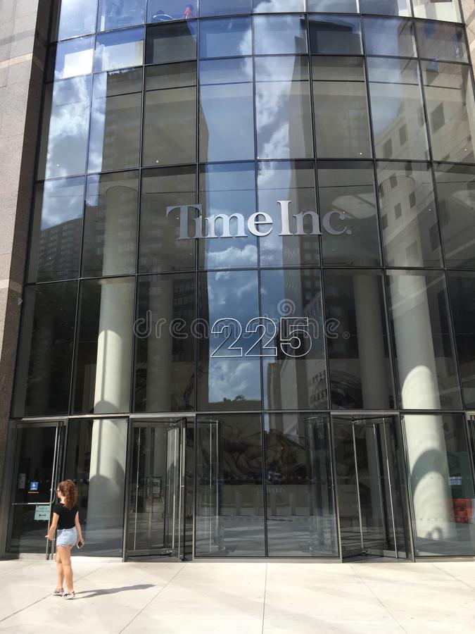 Time Incorporated Building, Manhattan, NYC.  stock photography