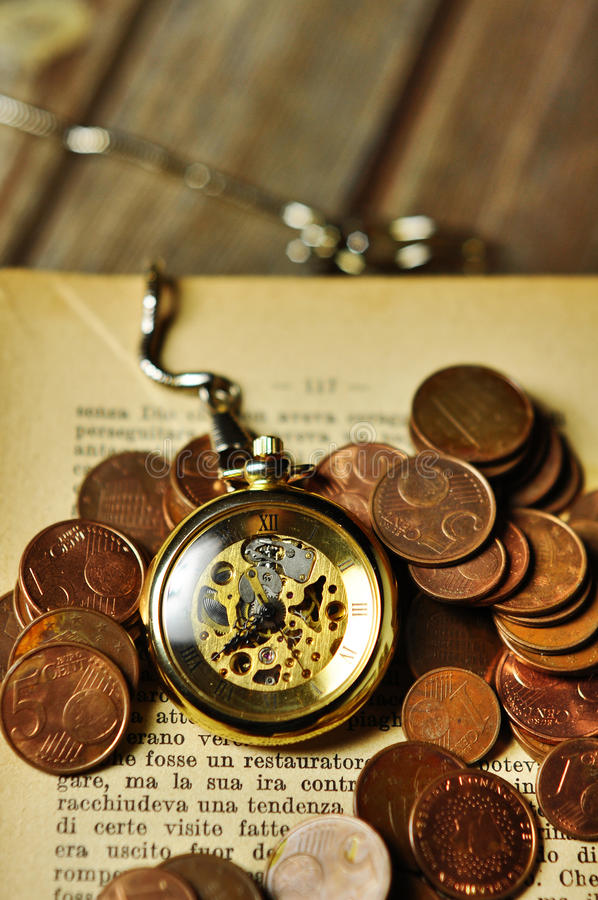 Free Time Is Money Stock Images - 24631754
