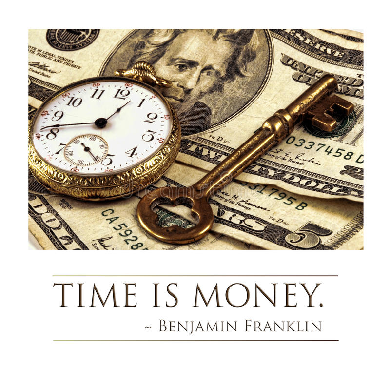Free Time Is Money Stock Photo - 47068530