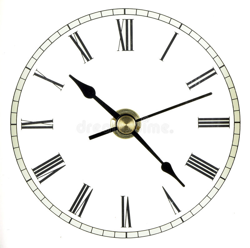 Download Time Isolated stock image. Image of clock, time, numerals - 323425