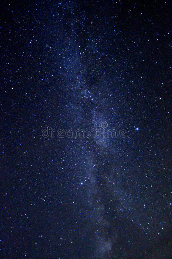 Time Lapse Image of the Night Stars. Long Exposure Time Lapse Image of the Night Stars stock photo